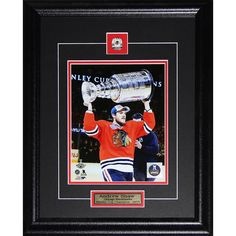 Midway Andrew Shaw Chicago Blackhawks 2015 Stanley Cup 8x10-inch Frame