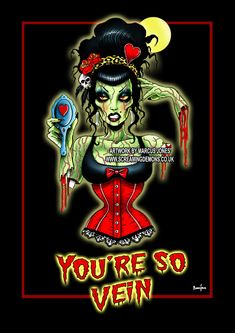 Hey, I found this really awesome Etsy listing at https://www.etsy.com/uk/listing/505635789/gothic-zombie-pinup-pinup-rockabilly