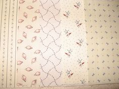 "Reproduction Fabric ""Shirting Snippets"" 