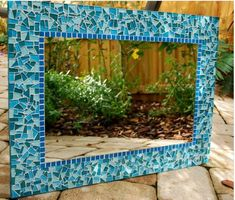 patterns for mosaic rectangle mirrors | street mosaics specializes in custom mosaic mirrors mosaic mirrors ...