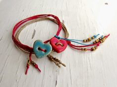 Songbeads: Irish Waxed Linen Cord Blog Hop - super easy bracelets