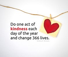 Do one act of kindness each day of the year and impact 366 lives. What do you think? Each Day, Days Of The Year, Thinking Of You, Acting, How To Plan, Free, Thinking About You