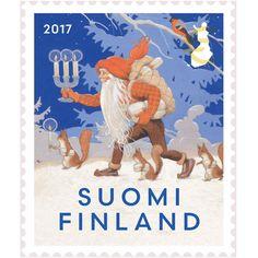 Luxury Homes Dream Houses, Christmas Images, Finland, Nostalgia, Xmas, Retro, Illustration, Stamping, Europe