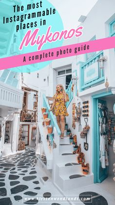The 10 Most Instagrammable Places in Mykonos – A Complete Photo Guide! Planning a trip to Mykonos, Greece sometime soon? Here is a list of the most instagrammable places in Mykonos and top photo spots you won't want to miss. Includes geotags, shooting tips, best times to shoot and more!   #Mykonos #Greece #Greecetravel #Travelphotography Mykonos Hotels, Mykonos Town, Mykonos Greece, Crete Greece, Athens Greece, Santorini, Greece Travel, Greece Trip, Greece Vacation