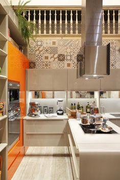 cozinha gourmet com cooktop lamego mancini 80660
