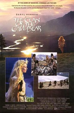 """The Clan of the Cave Bear"" (1985). COUNTRY: United States. DIRECTOR: Michael Chapman. CAST: Daryl Hannah, Pamela Reed, James Remar, Thomas G. Waites, John Doolittle, Curtis Armstrong"