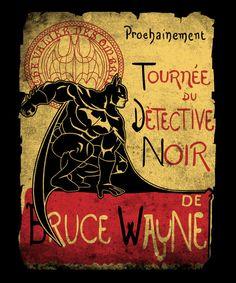 Tournée du Détective Noir T-Shirt €10 Batman tee at EnTeeTee!