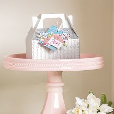Silver Mini Gable Boxes by Stampin' Up!