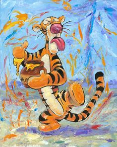 """""""Yucky!"""" - by William Silvers -  195 piece limited edition giclée on canvas  http://www.acmearchivesdirect.com/product/WDINT288/Yucky!.html?cid="""