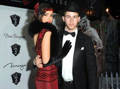 Pin for Later: 22 Celebrity Costumes You Can Actually Copy Nick Jonas and Olivia Culpo as a 1920s Couple Put on a suit and a cocktail dress, and call it a costume!
