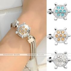 1x Crystal Cute Turtle Button Charm Snap Fit Punk Style Bracelet DIY Gift #Unbranded  http://www.ebay.com/itm/1x-Crystal-Cute-Turtle-Button-Charm-Snap-Fit-Punk-Style-Bracelet-DIY-Gift-/390962156615?pt=LH_DefaultDomain_0&var=&hash=item99be430451