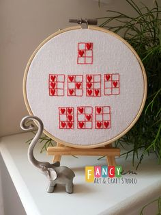 Via clever Edyta and her tiny cross-stitch Message in braille . I LOVE YOU : I Love You, My Love, Braille, Tiny Cross Stitch, Messages, Valentine Gifts, Unique Gifts, Arts And Crafts, Fancy