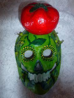 New Dia De Los Muertos Art! From the Tomato Field