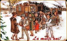 datini si obiceiuri craciun - Căutare Google Ellis Island, My Heritage, Folklore, Classroom Decor, Romania, Christmas Cards, Fair Grounds, Culture, Traditional