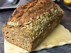 Spelled and Buckwheat Bread.