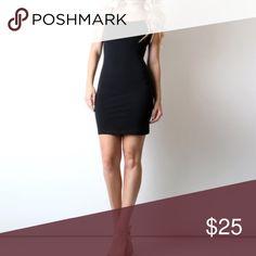 Black camisole tunic slip dress Black camisole tunic slip dress. Available in sizes S/M/L April Spirit Dresses