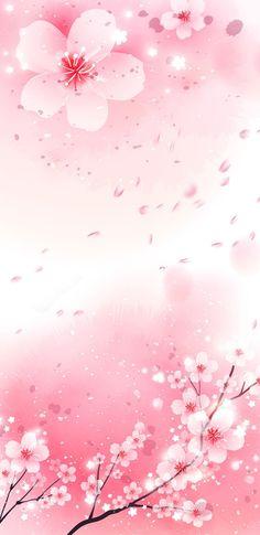 Just love sakura Frühling Wallpaper, Homescreen Wallpaper, Cellphone Wallpaper, Flower Wallpaper, Wallpaper Backgrounds, Cherry Blossom Wallpaper, Flower Backgrounds, Pretty Wallpapers, Flower Frame