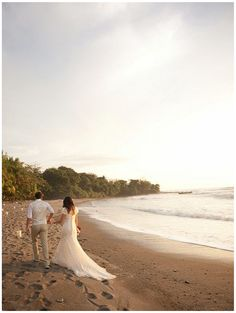 Happily ever after. #beach #wedding
