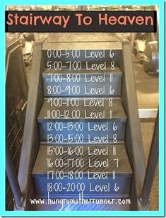 Stair Mill Workout