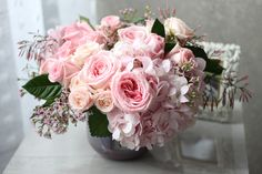 Lush garden blooms: 'Pink Spring Classic' by Winston Flowers.