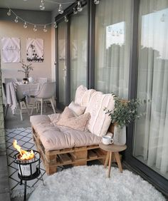 28 Elite Balcony Couch Design ideas With Pallets That Make You Feel Comfortable . - Balcony Couch , 28 Elite Balcony Couch Design ideas With Pallets That Make You Feel Comfortable . 28 Elite Balcony Couch Design ideas With Pallets That Make You Fee. Apartment Balcony Decorating, Apartment Balconies, Apartment Living, Apartment Patios, Cozy Apartment, Living Room, Small Balcony Design, Small Balcony Decor, Balcony Ideas