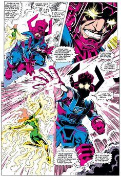"panels-of-interest: "" Phoenix vs. [from Excalibur "" Marvel E Dc, Marvel Comic Universe, Comics Universe, Marvel Heroes, Comic Book Artists, Comic Artist, Comic Books Art, Marvel Comic Character, Character Art"