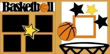Basketball Scrapbook PageKit. 7.00