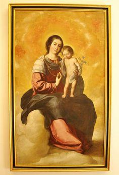 La Virgen del Rosario, de Francisco de Zurbarán, en el Museo de Bellas Artes de Sevilla.