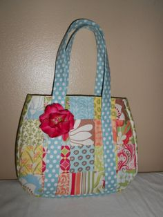 Free Quilted Purse Pattern   Items similar to Quilted Purse Pattern- PDF- Free Shipping on Etsy