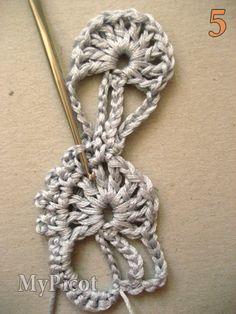 MyPicot | Free crochet patterns༺✿ƬⱤღ✿༻