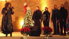 Singing background for the incomparable Ann Nesby at her 2011 Christmas Concert