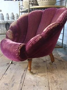 Shell chair sold by Alex MacArthur Antiques & Interiors