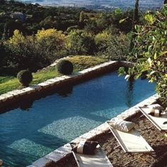 Come with me for a fresh morning dive into one of these pools! (image via haute design)