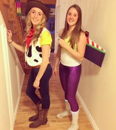 Buzz and woody best friend Halloween costume