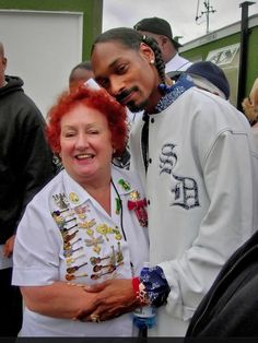 Here with Snoop Dog!