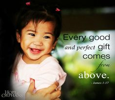 Every good gift points to the greater one--the gift of Himself for us.