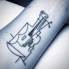 tatuajes picasso cubismo tattoos   Swagger El pintor español nació el 25 de octubre de 1881 y murió el 8 de abril de 1973.