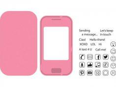 MARIANNE DESIGN - COLLECTABLE DIES COL1359 - SMART PHONE    STEMPEL OG DIES
