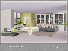 13 Items included in this bedroom set:  Found in TSR Category 'Sims 3 Adult Bedroom Sets'