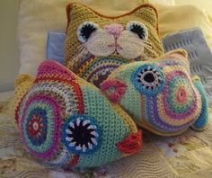 Ravelry: Tilly the Tropical Fish pattern by Kim Boardman. This wonderful pattern is available for 6.00 USD..