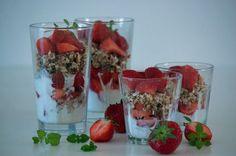 Frisk Jordbærdessert knasende lækker og sommersød