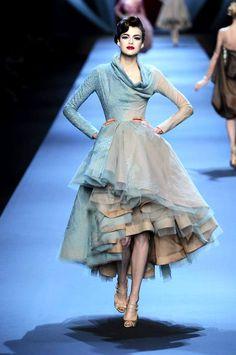 Haute couture Dior janvier 2011