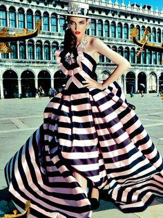 SHE LOVES FASHION Vogue Japan Boater #millinery #judithm #hats