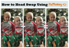 How to Head Swap Using PicMonkey