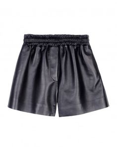 Acne Studios Leather Shorts