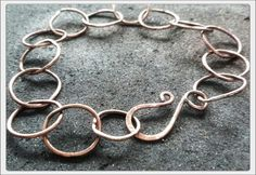 Braselet with copper wire