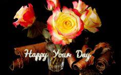 Roses in a Glass - Desktop Nexus Wallpapers Wallpaper, Rose, Day, Nature, Flowers, Plants, Desktop, Pink, Wallpapers
