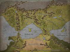 Midkemia I made this using InKarnate, based off the world of the Riftwar Trilogy by Raymond E Feist