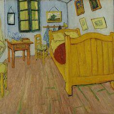 Bedroom in Arles, 1888  Vincent van Gogh / van Gogh Museum, Amsterdam
