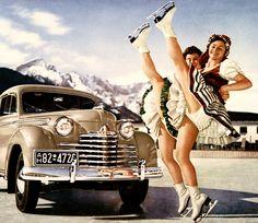 """""""Opel Olympia"""" ad 1951"""